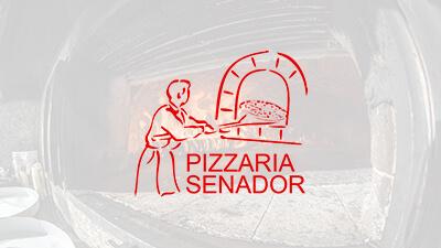 Site desenvolvido pela Pagebox: Pizzaria Senador